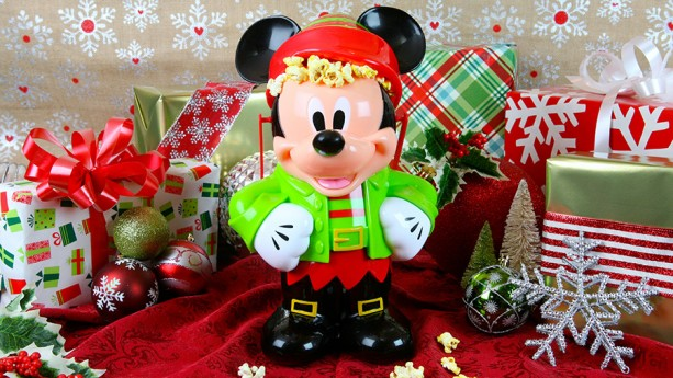 Mickey Elf Popcorn bucket