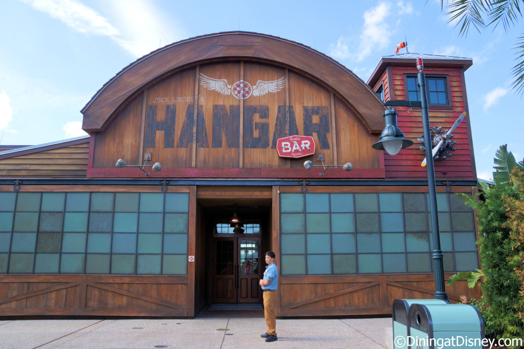 Jock Lindsey's Hangar Bar in The Landing at Disney Springs