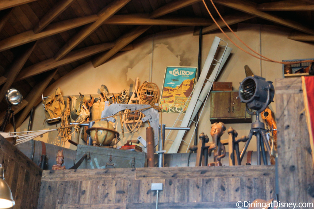 More treasures from Jock's travels at Jock Lindsey's Hangar Bar in Disney Springs
