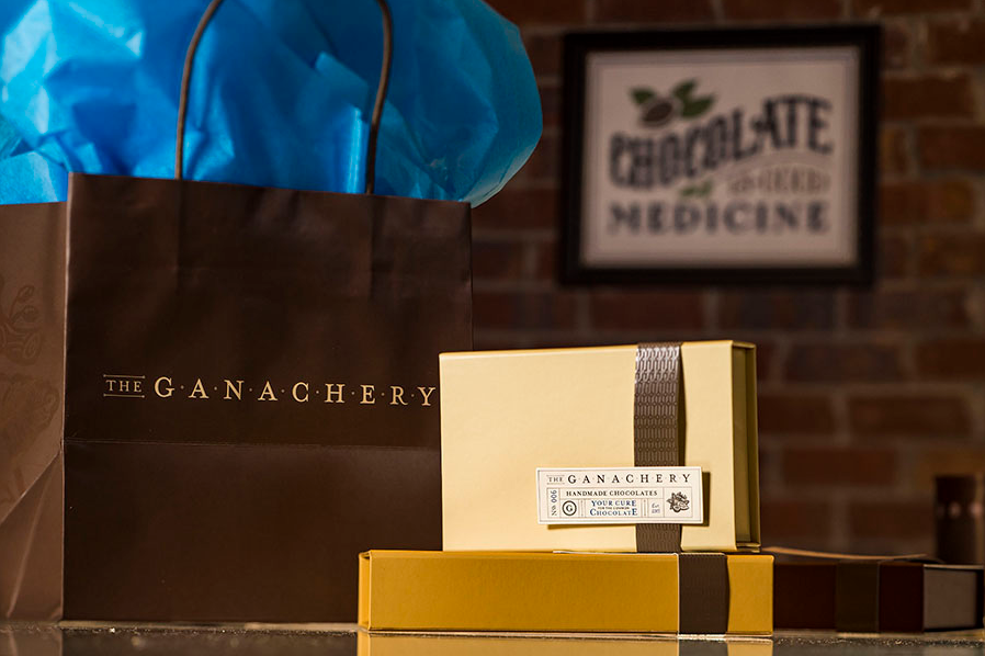 The Ganachery is located at Disney Springs