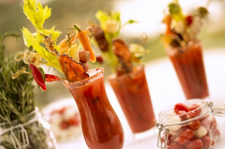 Sunday Brunch at California Grill - Bloody Mary Bar