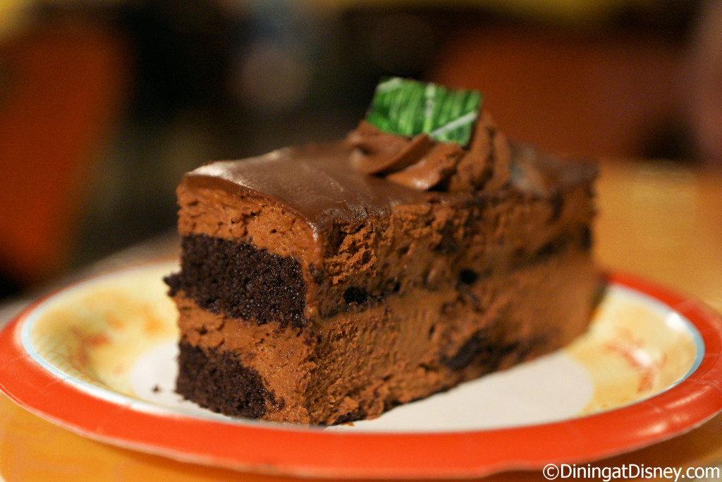 Chocolate Mousse Cake from Sunshine Seasons in The Land Pavilion at Epcot