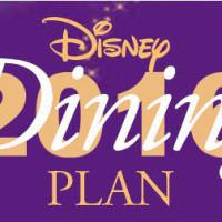 Disney Dining Plan 2016