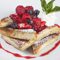 Very Berry French Toast at Plancha at Four Seasons Orlando