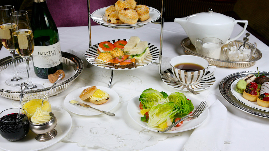Premium tea party at Steakhouse 55 in Disneyland Hotel