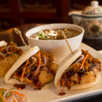 General Tso Chicken Steamed Buns from Nine Dragons Restaurant at Epcot