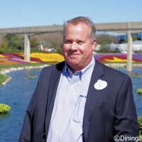 Eric Darden - Horticultural Manager - at the 2016 Epcot Flower & Garden Festival preview