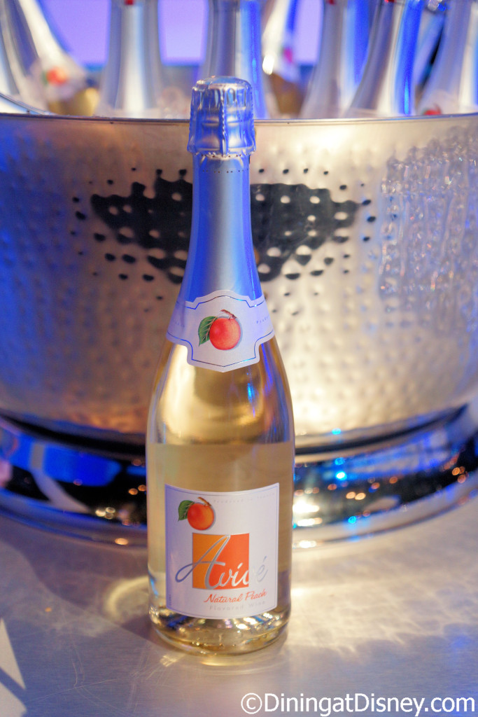 Avive Natural Peach Sparkling Wine from Urban Farm EATS at the 2016 Epcot Flower & Garden Festival food and beverage preview
