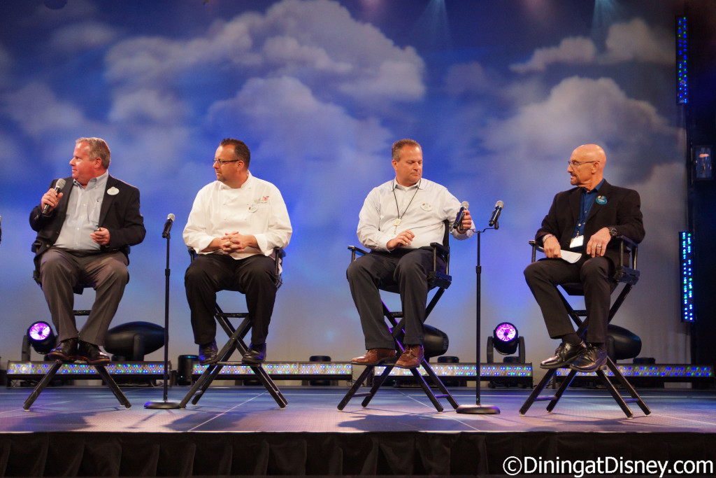 2016 Epcot Flower & Garden Festival food and beverage preview panel
