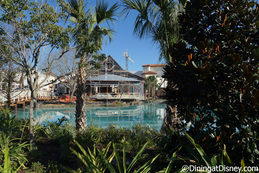 Disney Springs Town Center construction of unknown location