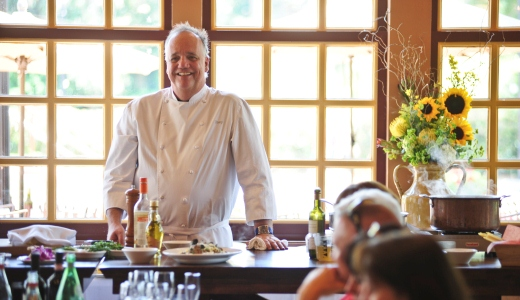 Learn to cook Roman style with Chef Tony Mantuano at Portobello