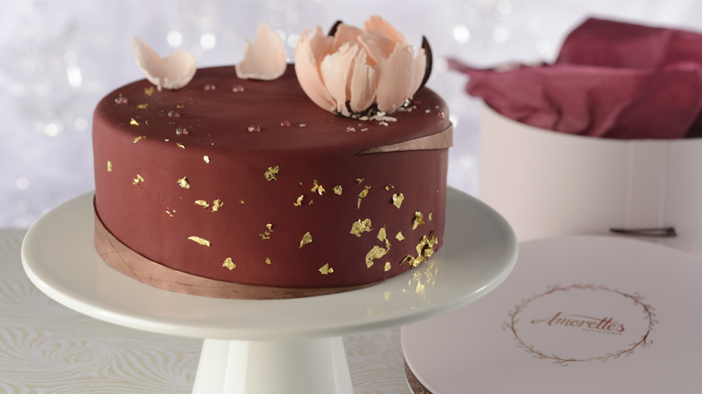Amorette's Signature Cake has ten layers of delectable flavors and textures. Amorette's Patisserie in Disney Springs