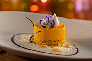 Calamansi Mousse at Tiffins at Disney's Animal Kingdom