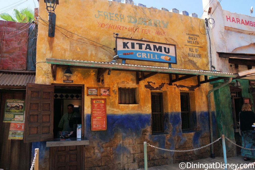 Harambe Market features the street foods of Africa at Disney's Animal Kingdom