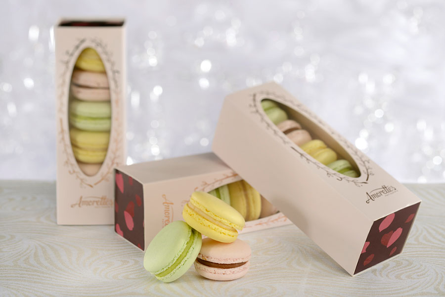 Macarons from Amorette's Patisserie