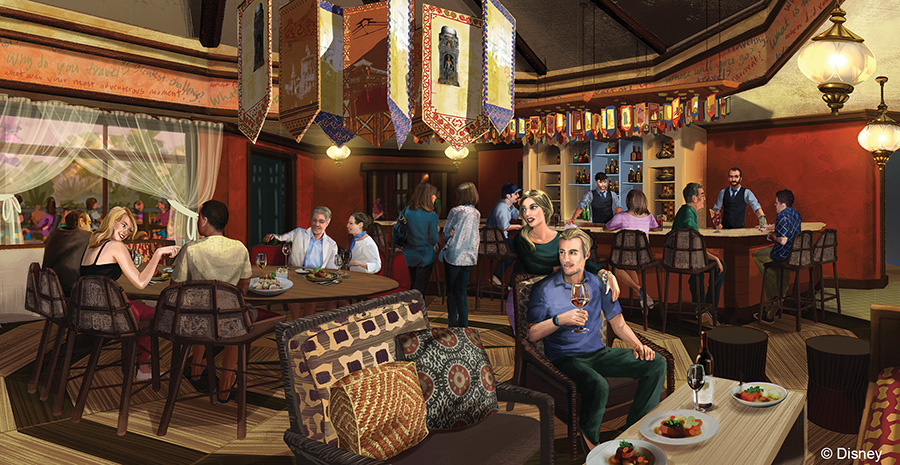 Tiffins Dining Room At Disney S Animal Kingdom
