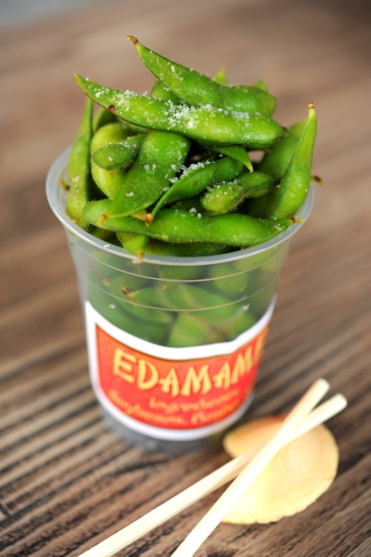 Edamame from Lucky Fortune Cookery at Disney California Adventure