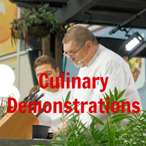 Culinary Demonstrations - Epcot Food and Wine Festival