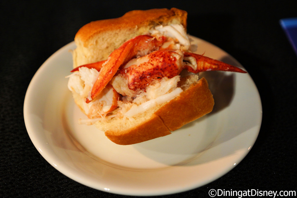 New England Lobster Roll (Hops & Barley) - 2016 Epcot Food and Wine Festival