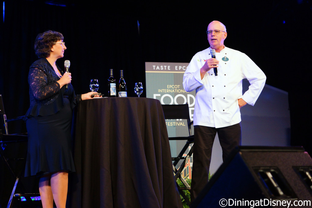 Marianne Hunnel and Chef Mike - 2016 Epcot Food and Wine Festival
