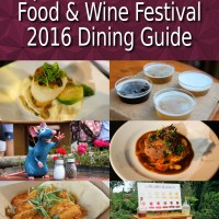 Epcot Food and Wine Festival 2016 book cover