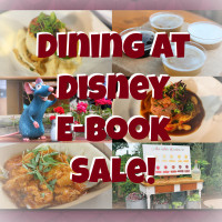 Dining at Disney e-book sale