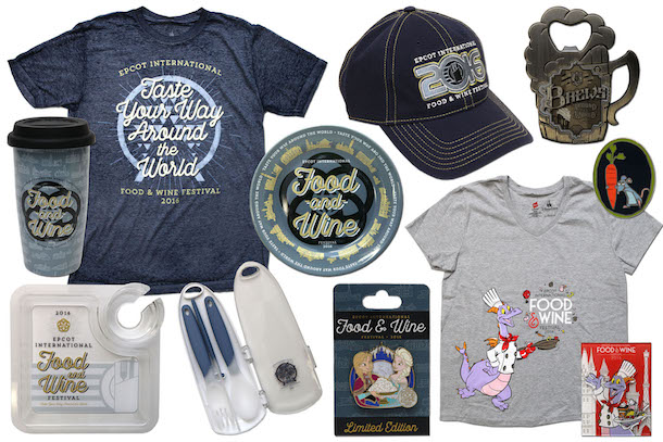 Epcot Food and Wine Festival 2016 merchandise