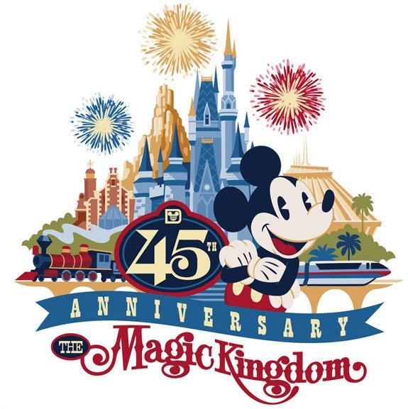 45th Anniversary of Magic KIngdom and Walt Disney World