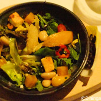 Foraged Salad - Bull and Bear - Waldorf Astoria Orlando