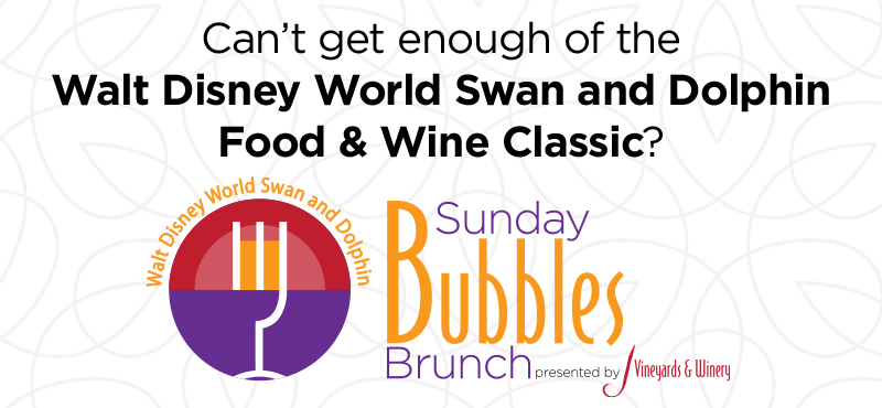 Sunday Bubbles Brunch is part of the Food and Wine Classic