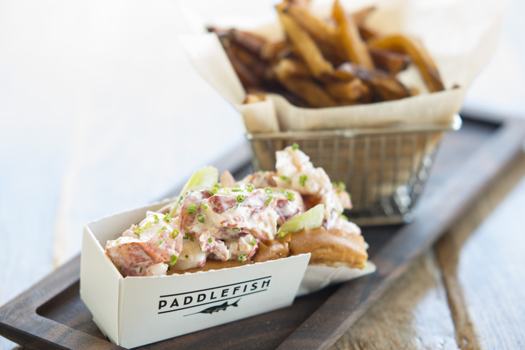 Lobster Roll from Paddlefish in Disney Springs