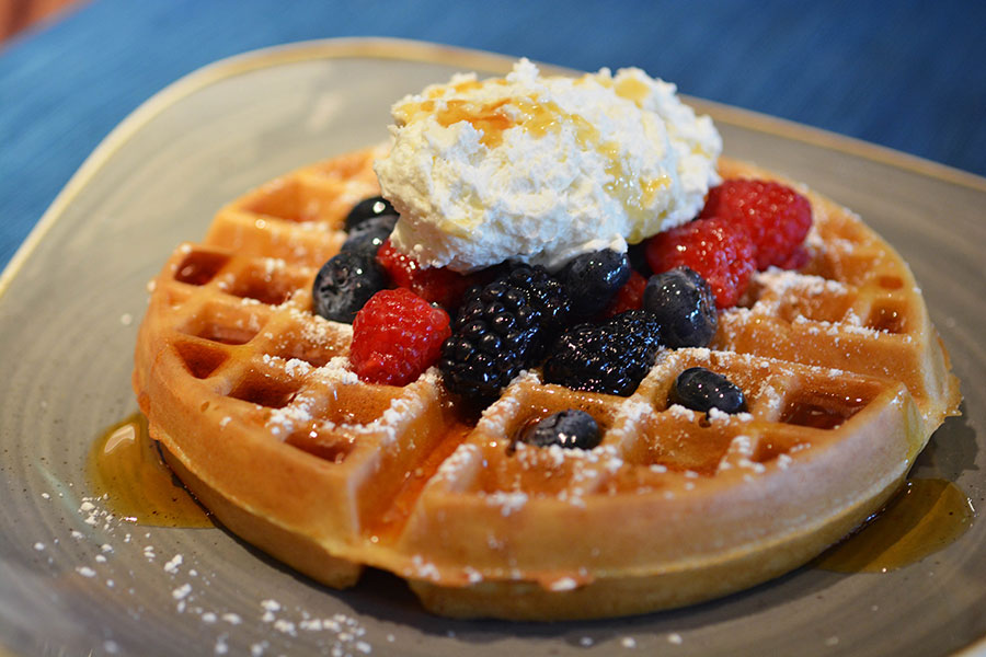 The Safari Waffle at Sanaa at Disney's Animal Kingdom Lodge