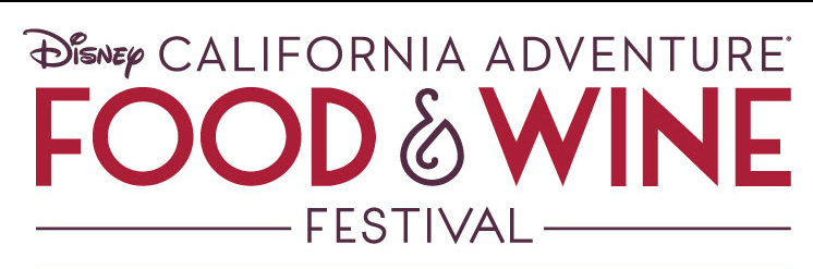 Disney California Adventure Food and Wine Festival logo