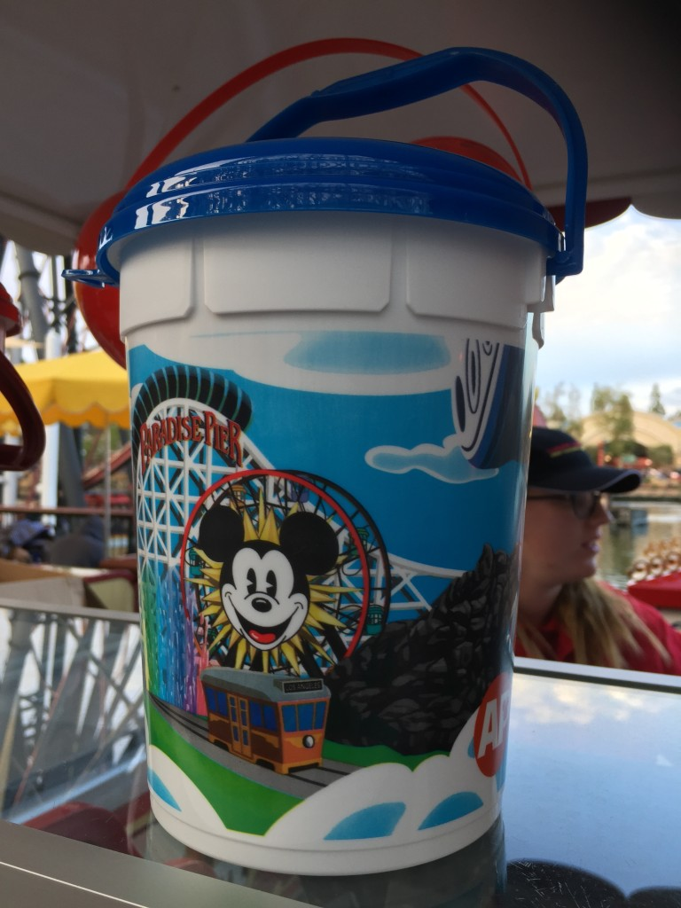 Disney California Adventure Annual Passholder popcorn bucket