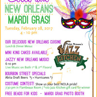 Mardi Gras at Ralph Brennan's Jazz Kitchen 2017