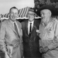Walt Disney with Tam Founder Lawrence L. Frank | Photo courtesy Tam O'Shanter