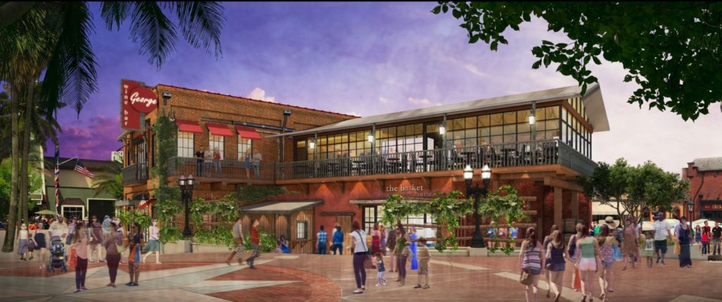 Wine Bar George rendering - coming to Disney Springs this fall