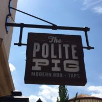 The Polite Pig opens on April 10 in Disney Springs