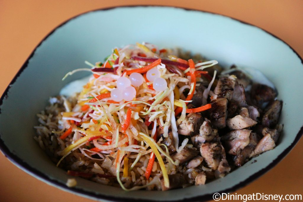 Chopped Wood-Grilled Chicken Bowl Satu'li Canteen at Pandora - The World of Avatar at Disney's Animal Kingdom