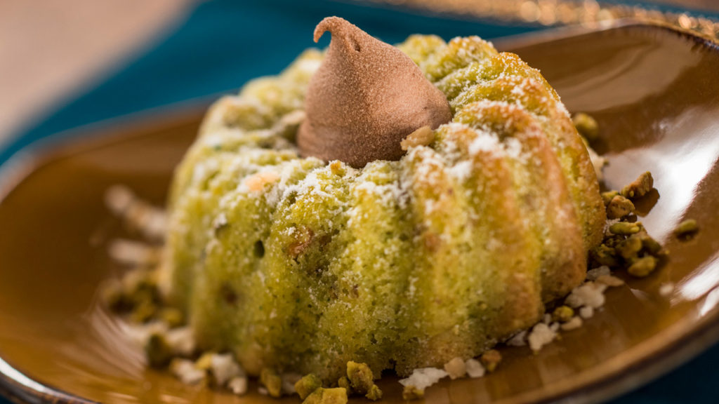 Pistachio cardamom cake from India - 2017 Epcot Food and Wine Festival