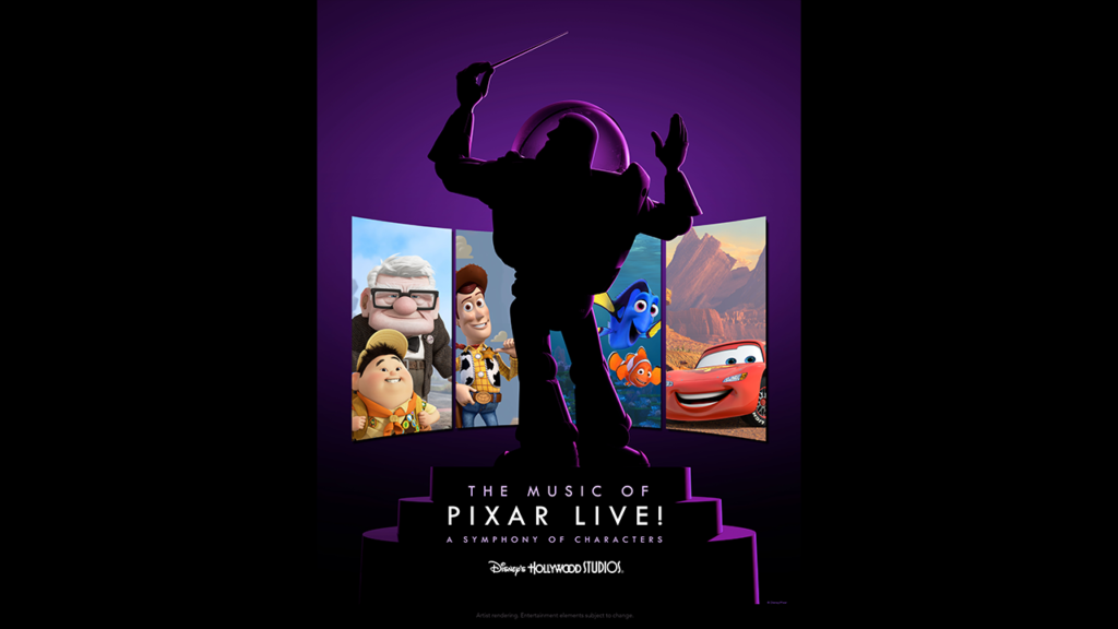 The Music of Pixar Live! is coming to Disney's Hollywood Studios