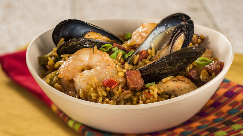 Traditional Spanish Paella from Spain - 2017 Epcot Food and Wine Festival