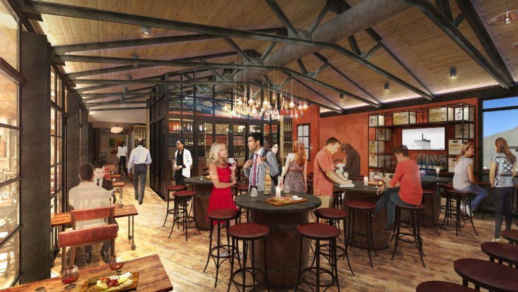 Wine Bar George Interior