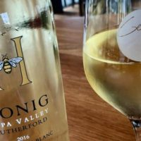 Wine Bar George's first late night wine party featuring Honig wines