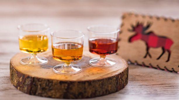 Inniskillin Ice Wine Flight - Yukon - 2018 Epcot International Festival of the Holidays Foodie Guide
