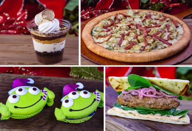 Sweet and savory holiday treats - 2018 Holiday Foodie Guide to Disneyland