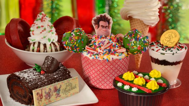 Sweet treats - 2018 Mickey's Very Merry Christmas Party Foodie Guide