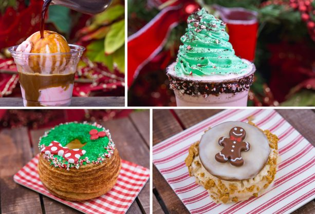 Tasty sweet holiday treats from Disneyland - 2018 Holiday Foodie Guide to Disneyland
