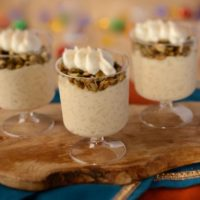 Tres Leches Rice Pudding with Pumpkin Seeds - Feast of the Three Kings - 2018 Epcot International Festival of the Holidays Foodie Guide